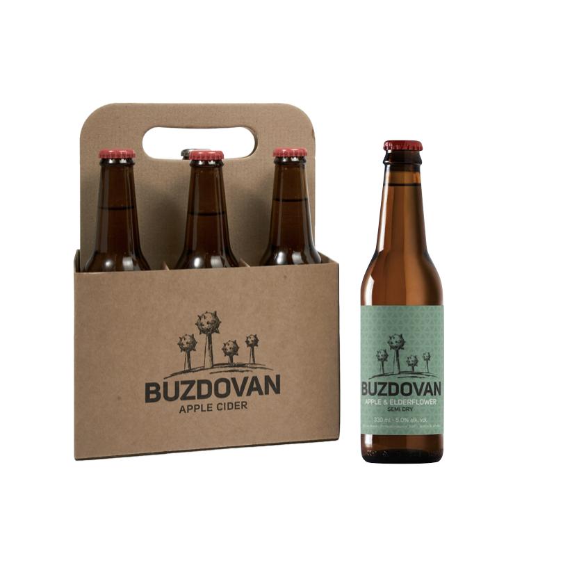 2019 Buzdovan Apple & Elderflower Cider 0,33L paket 6 butelja - kupi online