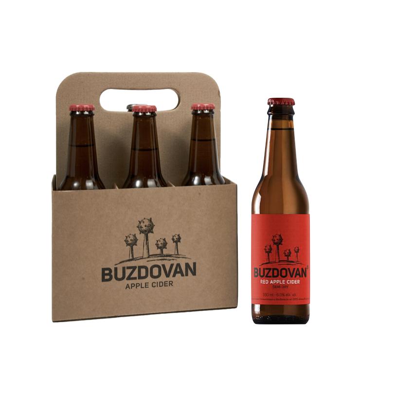 2019 Buzdovan Red Apple Cider 0,33L paket 6 butelja - kupi online